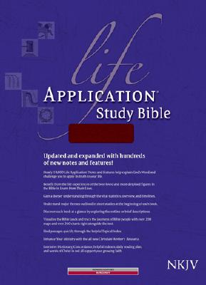 "Image for ""Life App Study Bible, BLthr BUR NKJV IDX """