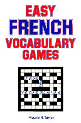 Easy French Vocabulary Games (Language - French) (English and French Edition), Sales, R.