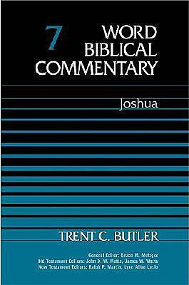 Image for Word Biblical Commentary Vol. 7, Joshua  (butler), 350pp