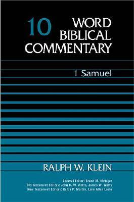 Image for 1 Samuel (Word Biblical Commentary Vol. 10)