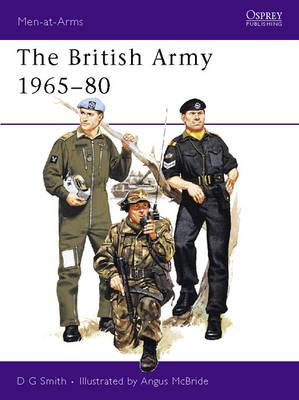 Image for The British Army,1965-80 (Men at Arms Ser.)
