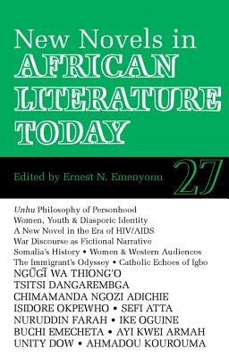 ALT 27 New Novels in African Literature Today