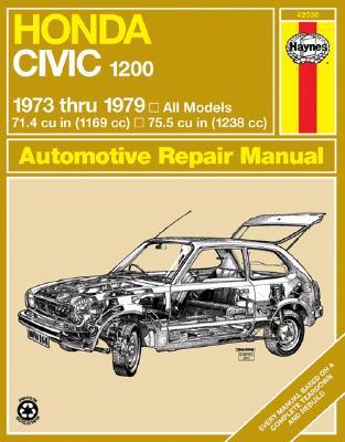 Image for Haynes Honda Civic 1200, 1300 Manual No. 160: 1973-1979 (Haynes Manuals)