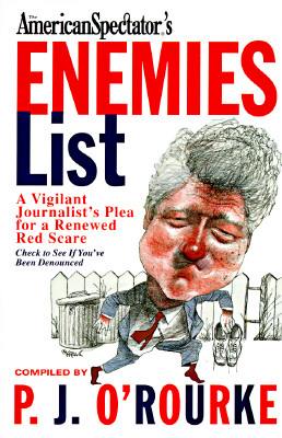 Image for American Spectator's Enemies List: A Vigilant Journalist's Plea for a Renewed Red Scare