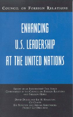 Image for ENHANCING U. S. LEADERSHIP AT THE UNITED NATIONS