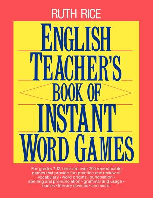Image for English Teacher's Book of Instant Word Games