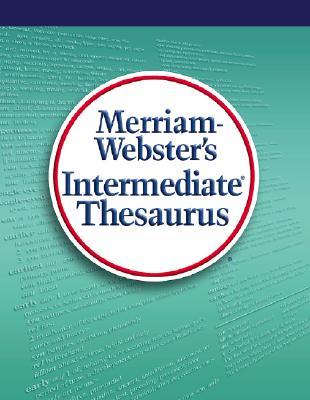 Image for Merriam-Webster's Intermediate Thesaurus