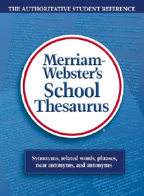 Image for Webster's School Thesaurus