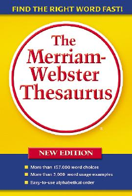 Image for The Merriam-Webster Thesaurus