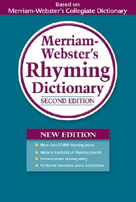 Image for Merriam-Webster's Rhyming Dictionary, Second Edition, Trade Paperback