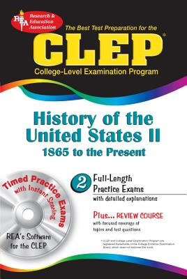 Image for CLEP History of the United States II w/CD (REA) - The Best Test Prep for the CLE (Test Preps)