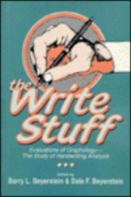 Image for The Write Stuff