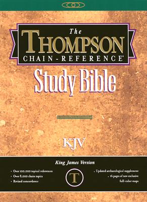 Image for 539 Thompson Chain Reference Bible-KJV-Handy Size