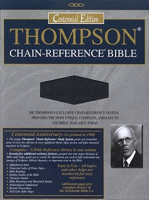 509 Black The Thompson Chain-Reference Bible: King James Version, Black, Bonded Leather