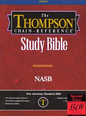 Image for 609 Black NASB - Thompson Chain Reference Bible - Regular Size - Bonded Leather