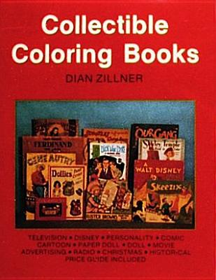 Collectible Coloring Books, Dian Zillner