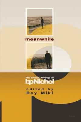 Image for Meanwhile: The Critical Writings of B P Nichol