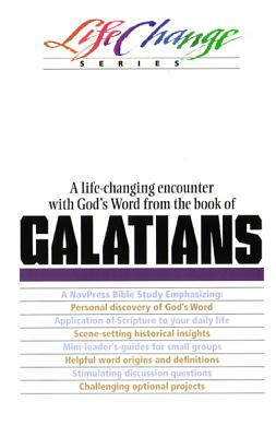 Image for Galatians (Life Change Series)
