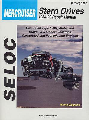 Mercruiser Stern Drives 1964 - 1991 (Seloc Marine Tune-Up and Repair Manuals), Seloc