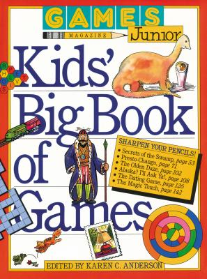 Image for Games Magazine Junior Kids' Big Book of Games