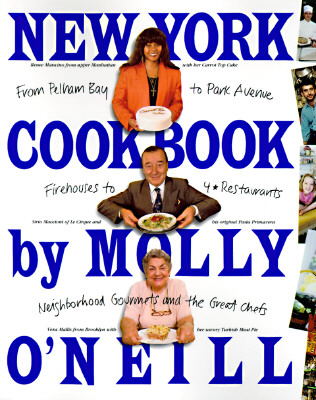 Image for New York Cookbook: From Pelham Bay to Park Avenue, Firehouses to Four-Star Restaurants