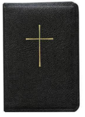 Prayer Book/Hymnal Combination - Black