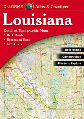 Louisiana Atlas & Gazetteer, Delorme
