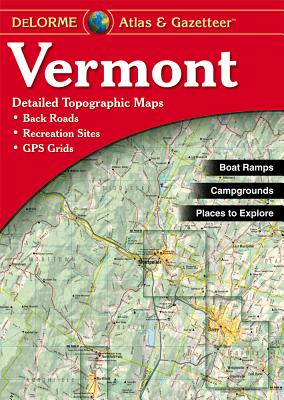 Image for Vermont Atlas and Gazetteer