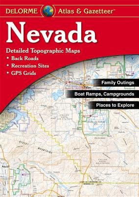 Nevada Atlas & Gazetteer, Delorme