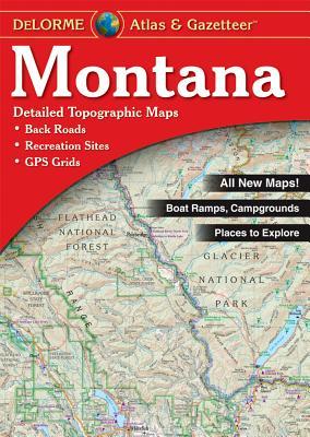 Montana Atlas & Gazetteer, Delorme