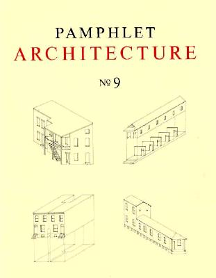 Image for Pamphlet Architecture 9: Rural and Urban House Types