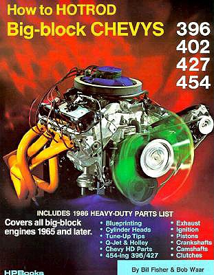 How to Hotrod Big-Block Chevys, Fisher, Bill;Waar, Bob