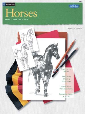 Drawing: Horses (HT11), Walter T. Foster