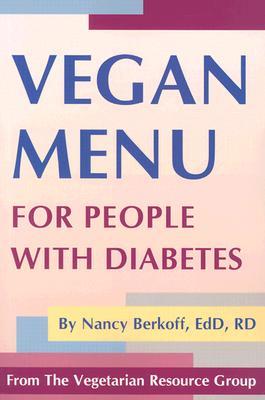 Vegan Menu for People With Diabetes, Berkoff, Nancy