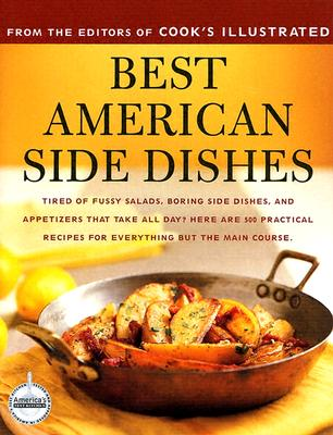 Image for BEST AMERICAN SIDE DISHES : A BEST RECIP