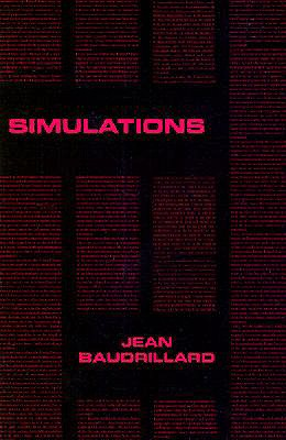 Image for SIMULATIONS ( TRANSLATED BY PAUL FOSS, PAUL PATTON AND PHILIP BEITCHMAN )