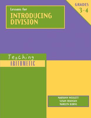 Image for Teaching Arithmetic: Lessons for Introducing Division Grades 3-4