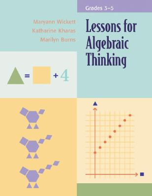 Image for Lessons for Algebraic Thinking: Grades 3-5