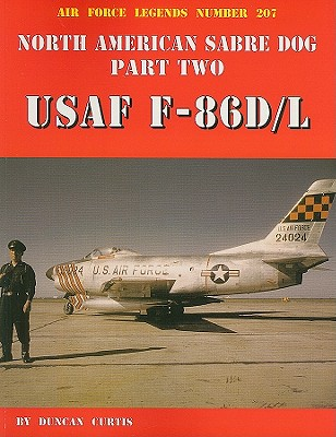Image for North American Sabre Dog USAF F-86D/L - Part 2 (Air Force Legends)