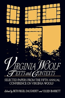 Image for Virginia Woolf: Texts and Contexts