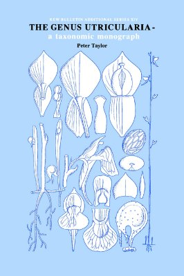 Image for Genus Utricularia: a taxonomic monograph (Kew Bulletin Additional Series)
