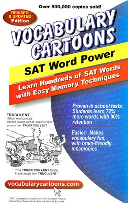 Image for Vocabulary Cartoons, SAT Word Power: Learn Hundreds of SAT Words Fast with Easy Memory Techniques