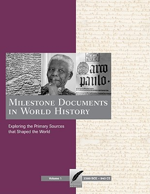 Image for Milestone Documents in World History: Print Purchase Includes Free Online Access