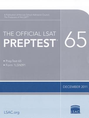 Image for The Official LSAT PrepTest 65: (Dec. 2011 LSAT)