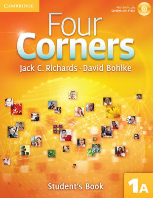 Four Corners Level 1 Student's Book A with Self-study CD-ROM and Online Workbook A Pack, Richards, Jack C.; Bohlke, David