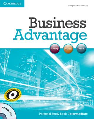 Business Advantage Intermediate Personal Study Book with Audio CD, Rosenberg, Marjorie