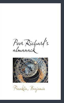 Image for Poor Richard's almanack