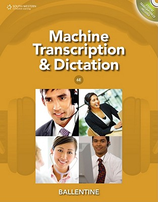 Image for Machine Transcription & Dictation (with CD-ROM)