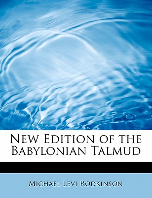Image for New Edition of the Babylonian Talmud