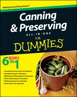 Canning & Preserving All-in-One For Dummies, Consumer Dummies